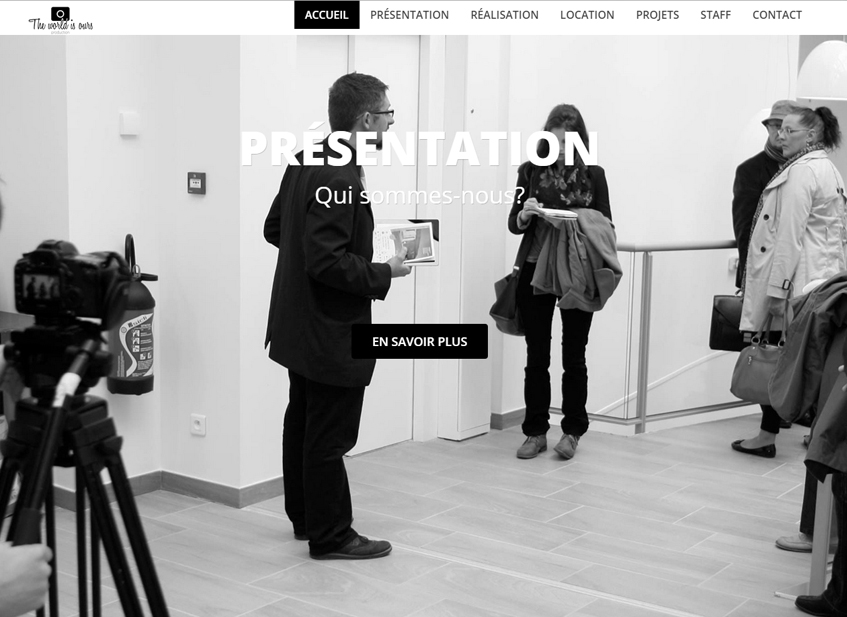 Site Vitrine Twio-Production